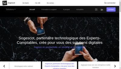 Site internet de Sogescot