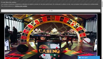 Site internet de Casino Production