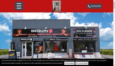 Site internet de Sol Flamme SARL