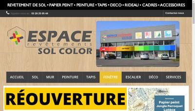 Site internet de Sol Color