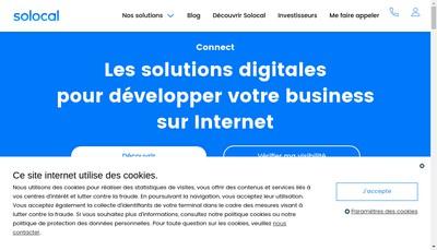 Site internet de Sobamex (Societe de Batiment Agencement Menuiseries Exterieures)