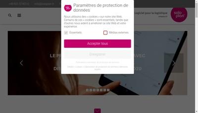 Site internet de Soloplan France