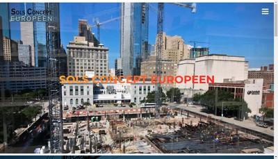 Site internet de Sols Concept Europeen