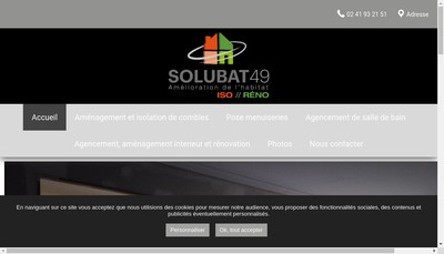 Site internet de Solubat49