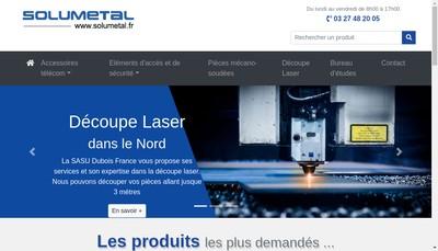 Site internet de Solumetal