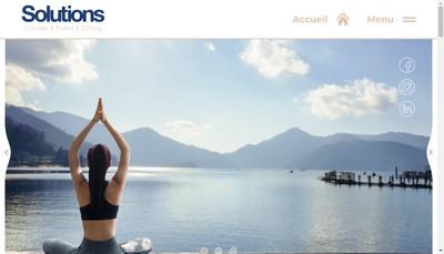 Site internet de Solutions