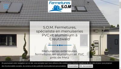 Site internet de SOM Services & Habitat SAS