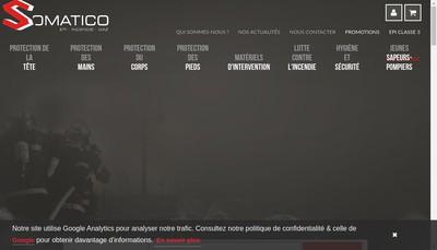 Site internet de Somatico