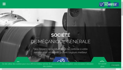 Site internet de Somege SAS
