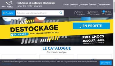 Site internet de Sanelec