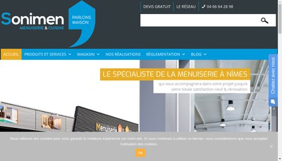 Site internet de Sonimen