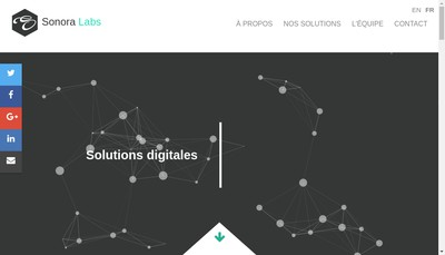 Site internet de Sonora Labs