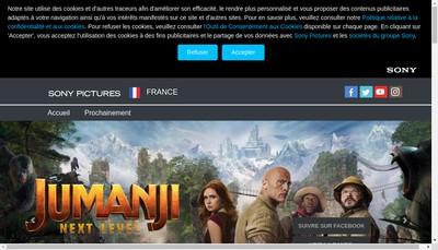 Site internet de Sony Pictures Entertainment France SAS