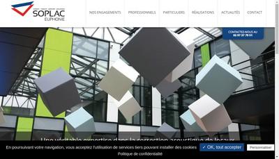 Site internet de Soplac-Euphonie