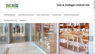 Site internet de Soredal Auvergne