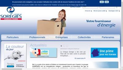 Site internet de Soregies