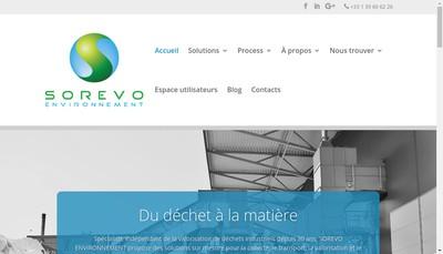 Site internet de Metaux 116 Sorevo Environnement