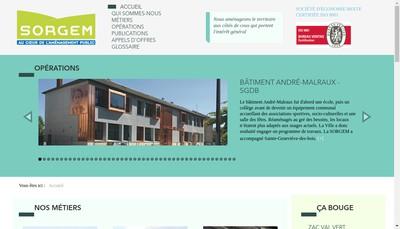 Site internet de Sorgem