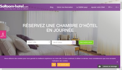 Site internet de Soroom