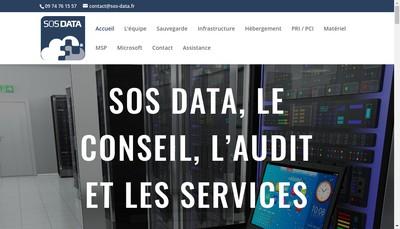 Site internet de Sos-Data