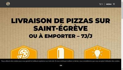 Site internet de Sos Apero - Sos Pizza