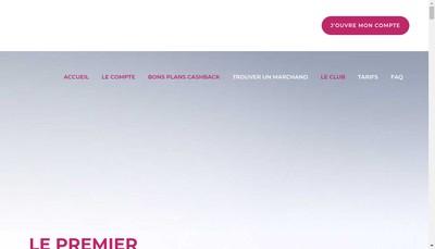 Site internet de Soshop Club