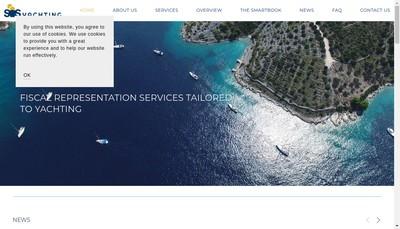 Site internet de Sos Yachting France