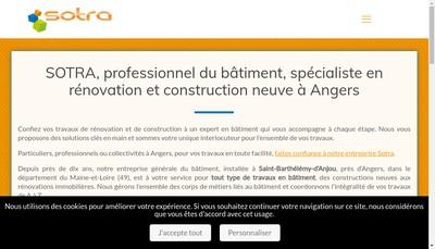 Site internet de Sotra