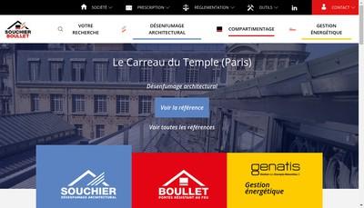 Site internet de Souchier Boullet