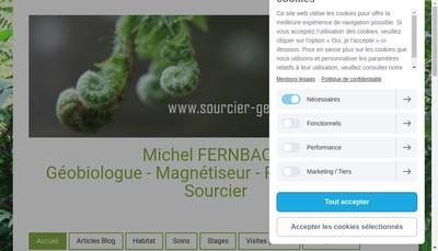 Site internet de Michel Fernbach