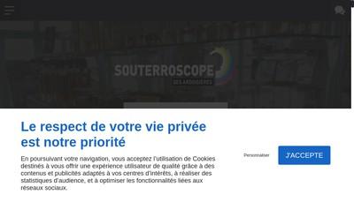 Site internet de Le Souterroscope des Ardoisieres