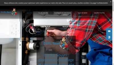 Site internet de EURL Souyri