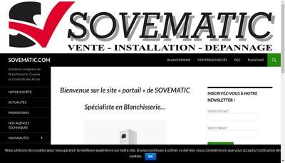 Site internet de Sovematic