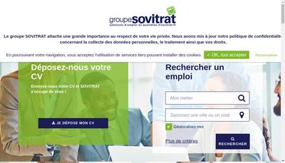 Site internet de Groupe Sovitrat