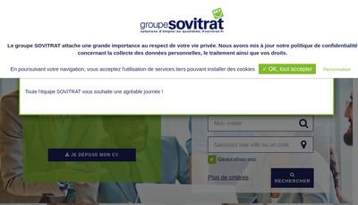 Site internet de Sovitrat
