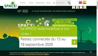 Site internet de Salon Produc Agricole Carrefour Europeen