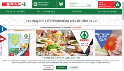 Site internet de Spar