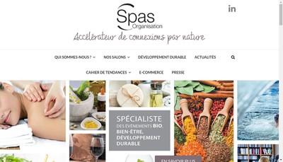 Site internet de Societe de Promotion et d'Animation de la Seine