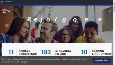 Site internet de Grenoble French Institut