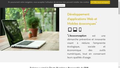 Site internet de Novaplan