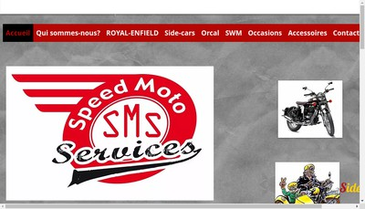 Site internet de Speed Moto Services