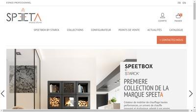 Site internet de Speeta
