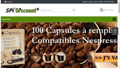 Site internet de Spi Discount