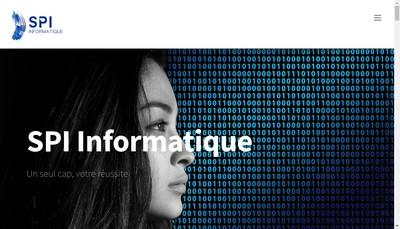 Site internet de Spi Informatique