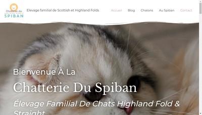 Site internet de Du Spiban