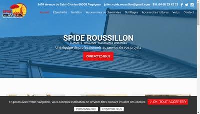 Site internet de Spide Roussillon