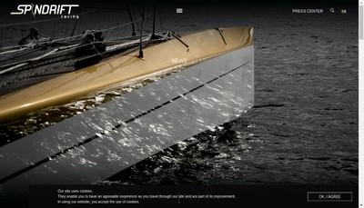 Site internet de Spindrift SAS