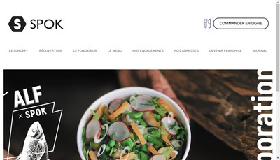 Site internet de Spok