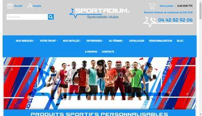 Site internet de Sportadium