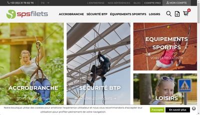 Site internet de Sps Filets